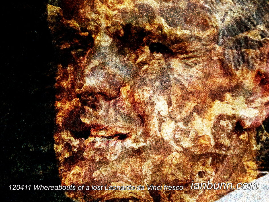 Whereabouts of a lost Leonardo da Vinci fresco (April 11th 2012)